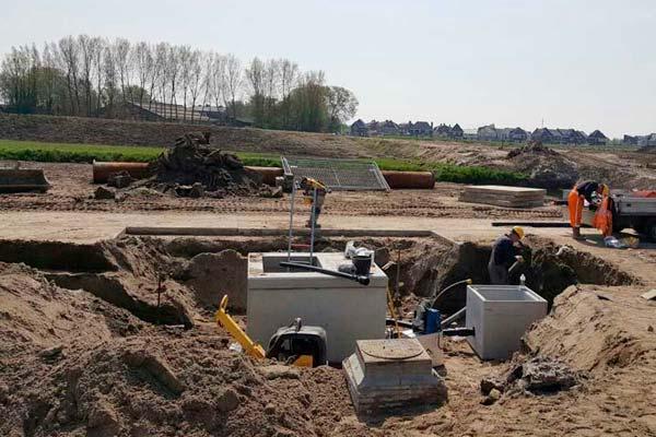 Rioolaanleg en onderhoud